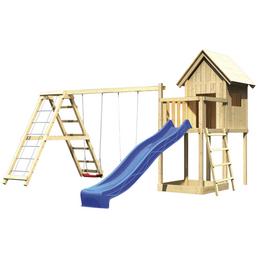 AKUBI Kinderspielanlage »Frieda«, B x T x H: 137  x 119  x 291  cm