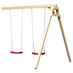AKUBI Kinderspielanlage »Luis« mit Rutsche, Schaukel