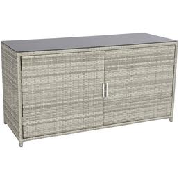 CASAYA Kissenbox »Bolanos«, BxHxT: 160 x 83 x 62 cm, grau/anthrazit