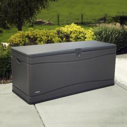 LIFETIME Kissenbox, BxHxT: 153 x 66 x 61 cm, carbongrau