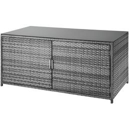 CASAYA Kissenbox »Fiami«, BxHxT: 175 x 83 x 87 cm, grau