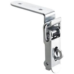 HETTICH Kistenverschluss abschließbar Stahl silber 88 x 22 x 22 mm