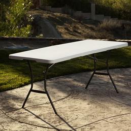 LIFETIME Klapptisch, BxHxT: 184 x 73,5 x 76 cm, Tischplatte: Kunststoff