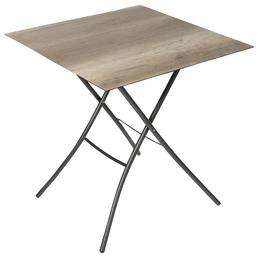 SUNGÖRL Klapptisch, mit Hpl-Tischplatte, B x L x H: 67 x 67 x 73 cm
