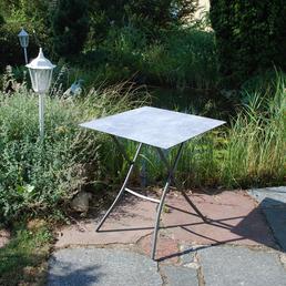 SUNGÖRL Klapptisch, mit Hpl-Tischplatte, BxTxH: 70 x 70 x 67 cm