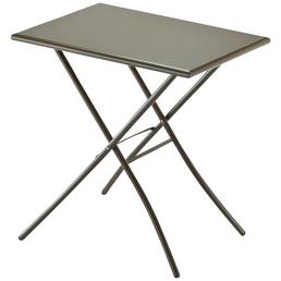 SUNGÖRL Klapptisch, mit Stahl-Tischplatte, B x L x H: 50 x 70 x 73 cm