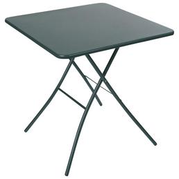 SUNGÖRL Klapptisch, mit Stahl-Tischplatte, B x L x H: 67 x 67 x 73 cm