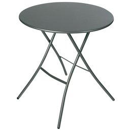 SUNGÖRL Klapptisch mit Stahl-Tischplatte, Ø 167 cm