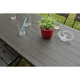 GARDEN PLEASURE Klapptisch »Tabora«, mit Kunststoff-Tischplatte, B x L x H: 74,5 x 180 x 73 cm