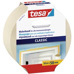 TESA Klebeband, CLASSIC, 50 m x 50 mm, Beige