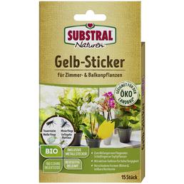 SUBSTRAL NATUREN® Klebefalle, 15 Stk., Bio-Qualität