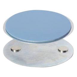 ABUS Klebepad, für Rauchwarnmelder Magnetolink 8000, Metall, Ø 7,5 cm