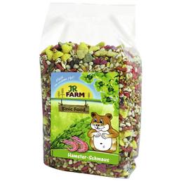 JR FARM Kleintierfutter »Hamster-Schmaus«, Saaten-Mix / Gemüse, 6x600 g