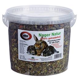 ELLES Kleintierfutter »Nager Natur«, Gemüse, 3 kg
