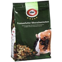 ELLES Kleintierfutter »Premiumfutter«, Gemüse / Rohfasern, 4x2 kg