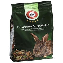 ELLES Kleintierfutter »Premiumfutter«, Gemüse / Rohfasern, 8x800 g