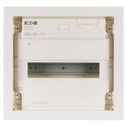 EATON Kleinverteiler, 1-reihig, 12 Module, 10 x 36 x 34 cm, Kunststoff, Weiß
