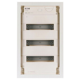 EATON Kleinverteiler, 3-reihig, 36 Module, 10 x 36 x 59 cm, Kunststoff, Weiß