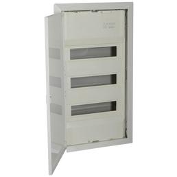 f-tronic ® Kleinverteiler, Weiß, 3-reihig, 36,5 x 40 x 8,8 cm