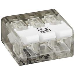 BESTEST Klemme, Compact, Kunststoff, Weiß, Kabel von 0,8 bis 4 mm²