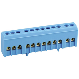 SLS-ELEKTRO Klemme, Kunststoff, Blau, Leiter mit einem Querschnitt von 16 mm²