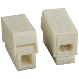 WAGO Klemme, Kunststoff, Weiß, Leiter mit einem Querschnitt von 0,5/1 bis 2,5 mm²