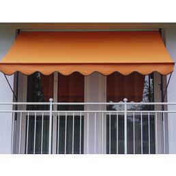 Klemmmarkise, BxT: 150x150 cm, orange
