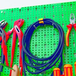 CON:P Klettband Kunststoff, 5  Stück