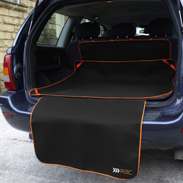 Kofferraumdecke, für Hunde, Polyester, schwarz
