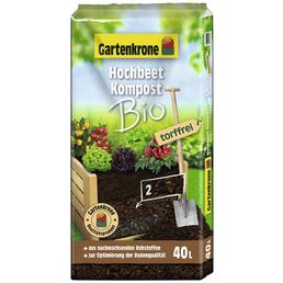 Kompost »Bio«, für Outdoorpflanzen , torffrei