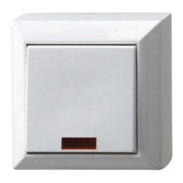 REV-Ritter Kontroll-Wechselschalter, Weiß, Kunststoff