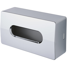 KEUCO Kosmetikbox, Höhe: 13,4  cm, chromfarben