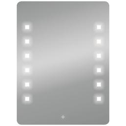 WELLWATER Kosmetikspiegel, beleuchtet, BxH: 60 cm x 80 cm