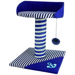 HEIM Kratzbaum »Ocean-Style«, blau/grau, Höhe: 42 cm