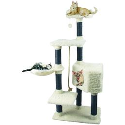 HEIM Kratzbaum »White Cat«, weiß, Höhe: 139 cm