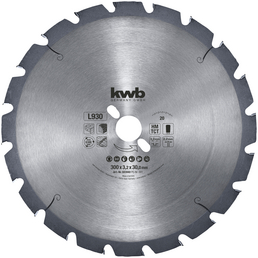KWB Kreissägeblatt, 300 mm, Kreissägeblatt, D.300x2,2x30 Z20