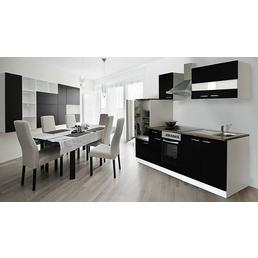RESPEKTA Küchenblock »KB270WWCG«, mit E-Geräten, Gesamtbreite: 270 cm