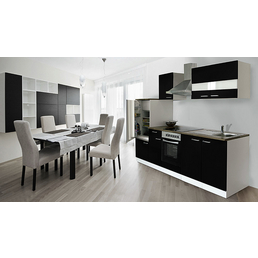 RESPEKTA Küchenblock »KB270WWCG«, mit E-Geräten, Gesamtbreite: 270cm