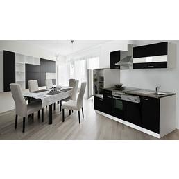 RESPEKTA Küchenblock »KB280WWCG«, mit E-Geräten, Gesamtbreite: 280 cm