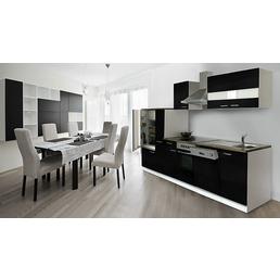RESPEKTA Küchenblock »KB310WWCG«, mit E-Geräten, Gesamtbreite: 310 cm