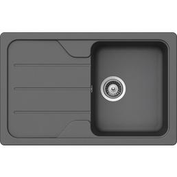 SCHOCK Küchenspüle, Formhaus D-100S Croma, Granit | Komposit | Quarz, 78 x 50