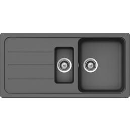 SCHOCK Küchenspüle, Formhaus D-150L Croma, Granit | Komposit | Quarz, 100 x 50