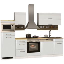 HELD MÖBEL Küchenzeile »Mailand«, mit E-Geräten, Gesamtbreite: 280cm