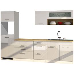 HELD MÖBEL Küchenzeile »Mailand«, ohne E-Geräte, Gesamtbreite: 290cm