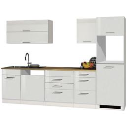 HELD MÖBEL Küchenzeile »Mailand«, ohne E-Geräte, Gesamtbreite: 300cm
