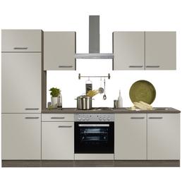 OPTIFIT Küchenzeile »OPTIkompakt ARTA 288«, mit E-Geräten, Gesamtbreite: 210cm