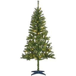 CASAYA Kunstweihnachtsbaum »Dale«, Höhe: 185 cm, grün, beleuchtet
