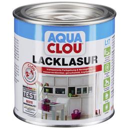 CLOU Lack-Lasur »AQUA«, für innen, 0,375 l, Palisander, seidenmatt