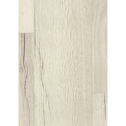 EGGER Laminat »Aqua+«, BxL: 193 x 1291 mm, Stärke: 8 mm, Creston Eiche weiß