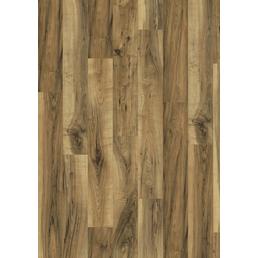 EGGER Laminat »Aqua+«, BxL: 193 x 1291 mm, Stärke: 8 mm, Perganti Nussbaum baun